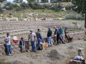 Ampitheater Workers (photo courtesy of CBFIC)