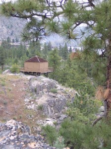 Badger Lookout (photo courtesy of CBFIC)
