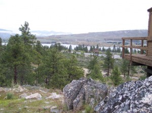 View from Badger Lookout (photo courtesy of CBFIC)