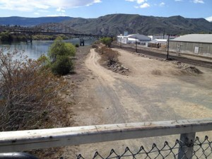 Site of future dog park
