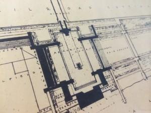 Frank Lloyd Wright drawing